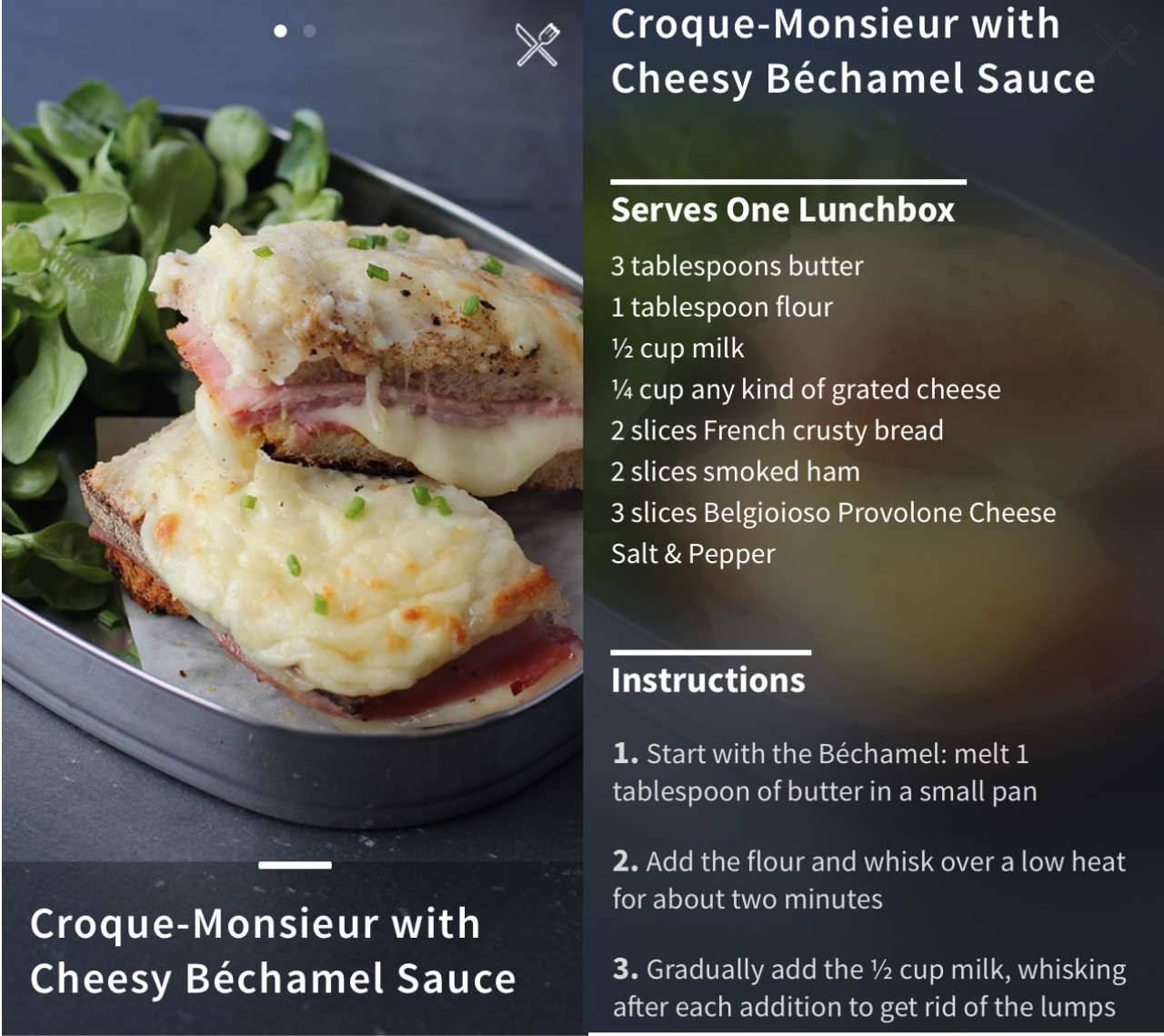 App of the Month: The French Lunchbox – One French Recipe Made For You Every Week