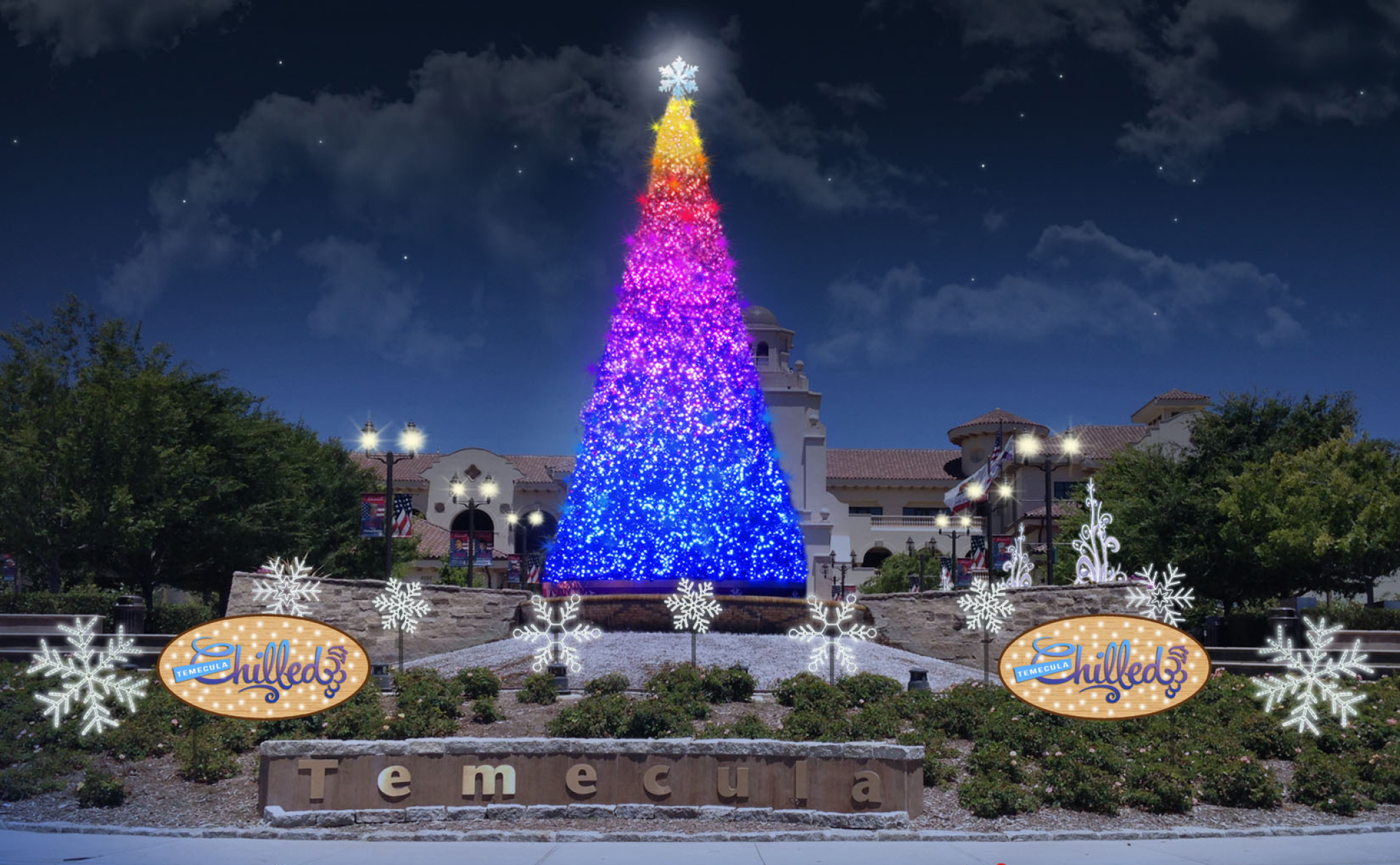 "Celebrate the Holiday Season ""Temecula Chilled"" Style"