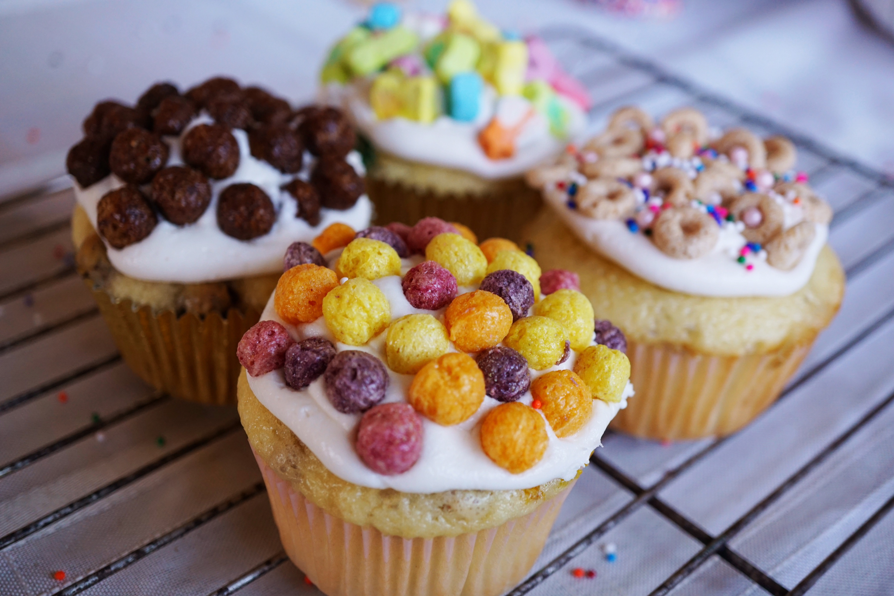Its Children's Day: Let's Celebrate El Dia del Niño With Cereal Cupcakes