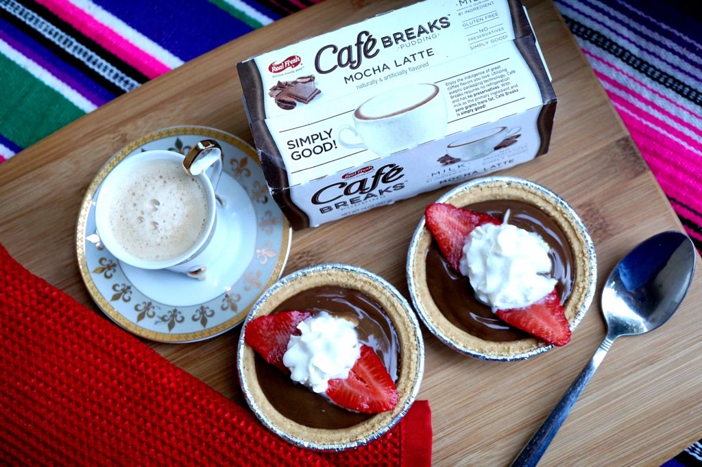 Cafe Breaks Mini Mocha Latte Pie