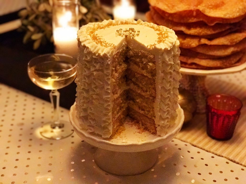 Any Occasion Champagne Mimosa Cake
