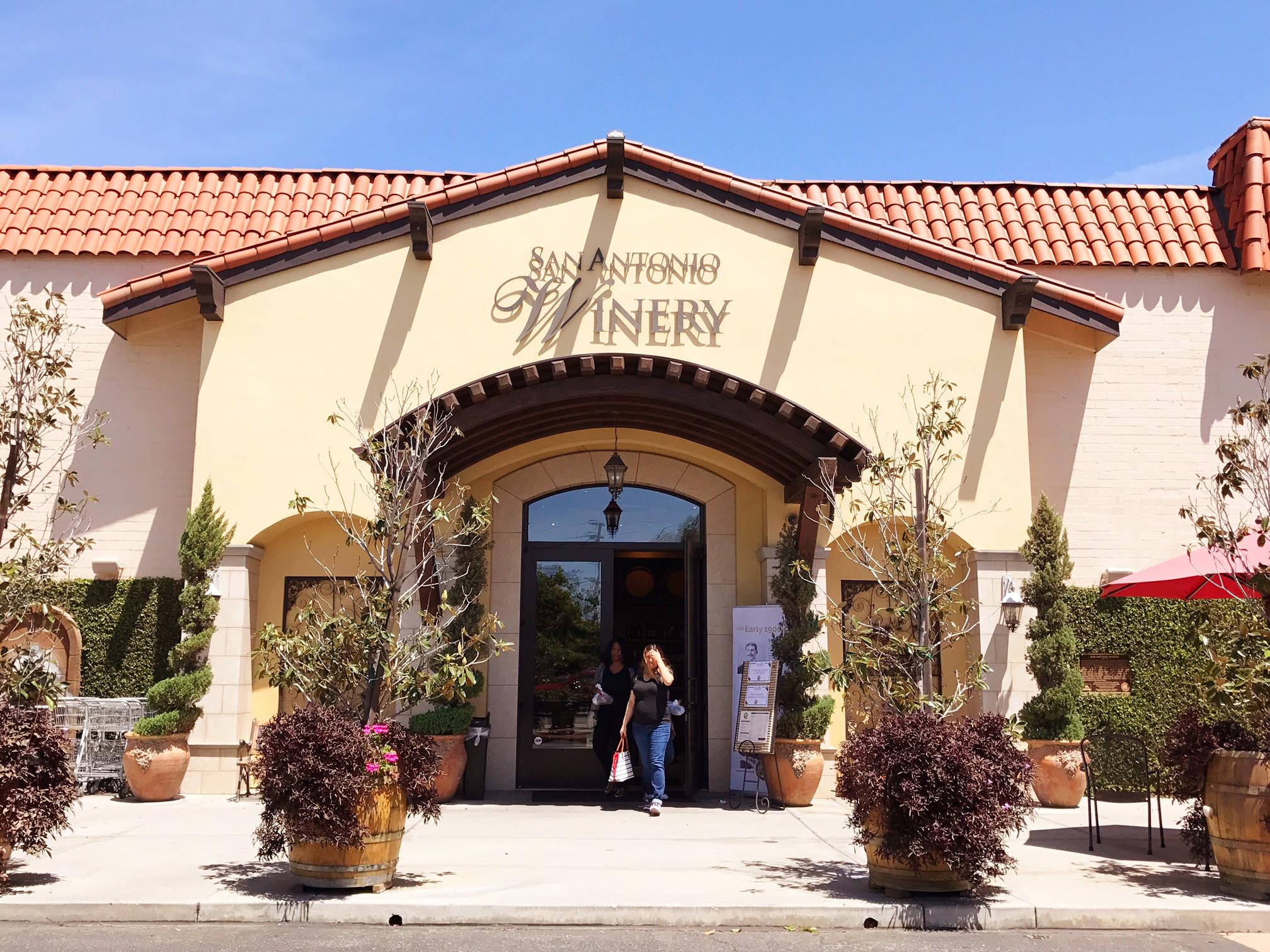 Visiting San Antonio Winery in Downtown Los Angeles