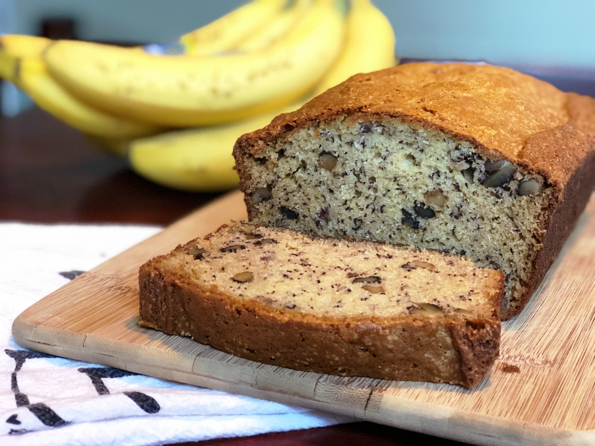 Simple banana bread recipe with walnuts chocolate chips simple banana bread recipe with walnuts chocolate chips forumfinder Image collections