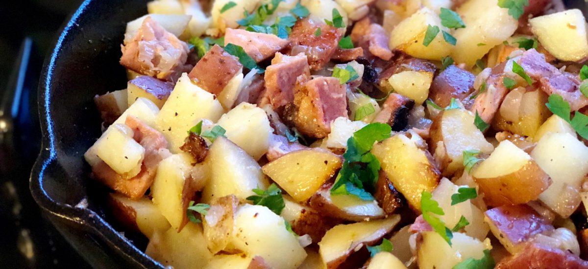 Jamón con Papas – Skillet Ham with Potatoes Recipe