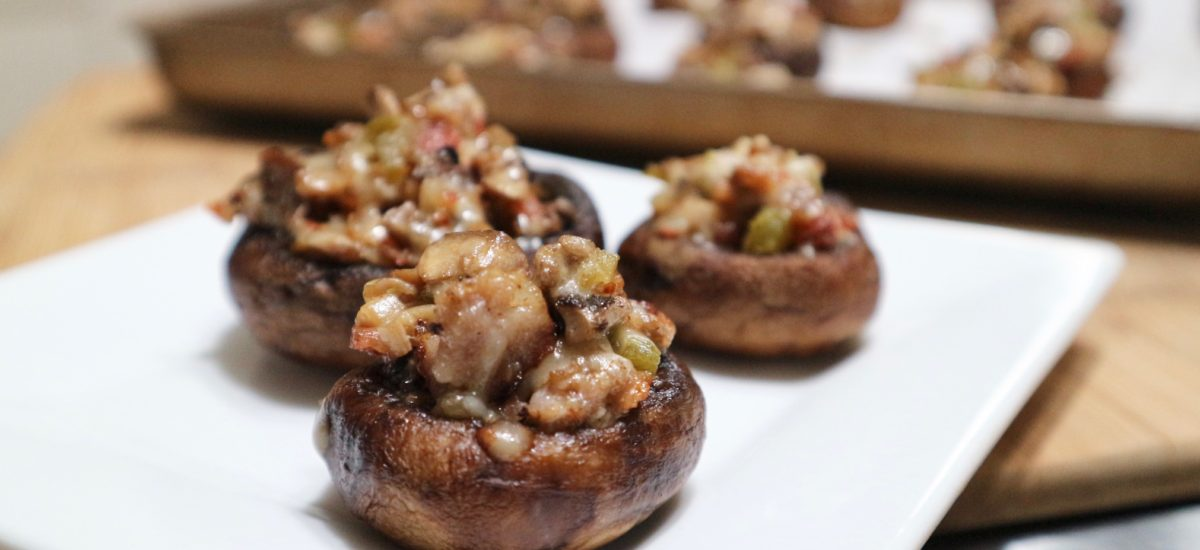 Protected: Stuffed Mushrooms with Bacon and Sausage Appetizer